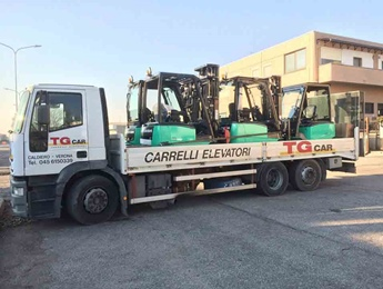 Trasporto carrelli TG car